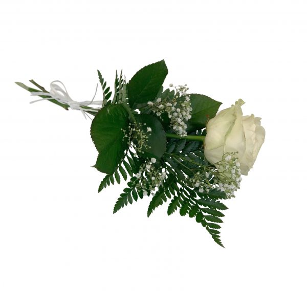begravningsblommor, handbukettvit2